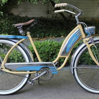 "1940's Hiawatha Ladies 26"" Tank Bike Cruiser - Outdoor Sports"