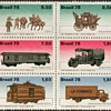 "Brazil - ""Mail Transportation"" Postage Stamps"