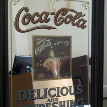 Coke Mirror - Coca-Cola