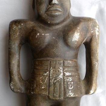 Pre-Columbian Mexican Stone Figurine