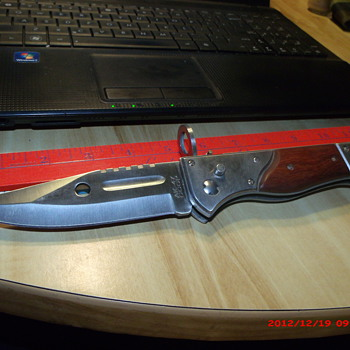 My BIG new AK-47 switchblade bayonet  - Tools and Hardware