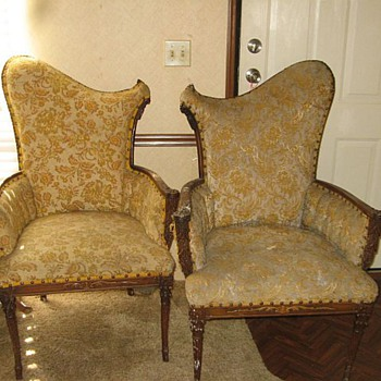 Mom's pair of chairs.