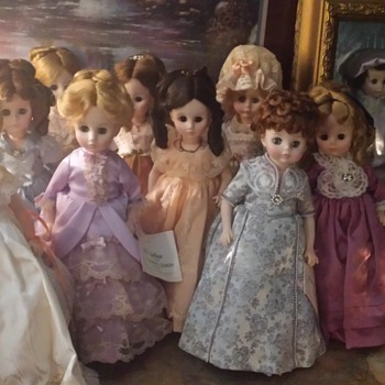 my inherited Madame collection! love them!! - Dolls