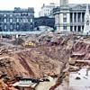 1971-Birmingham uk-the new central lending library under  construction.