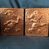 Copper/Brass Mickey and Donald.