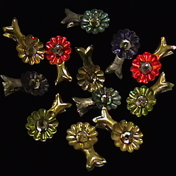 Early 1900's Candle Clips and Candles