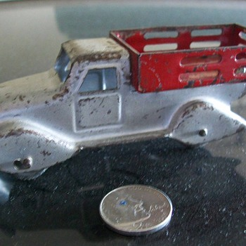 Small Marx truck