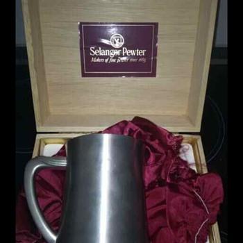 Selangor pewter beer mug?  - Breweriana