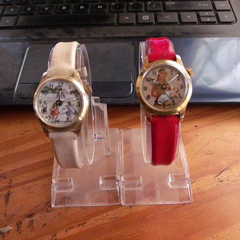 """Childhood"" Animated Wristwatches - Wristwatches"