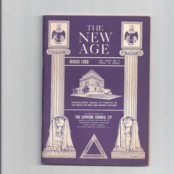 THE NEW AGE MAGAZINE - Paper