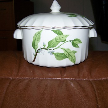 Covered Vegetable Dish - China and Dinnerware