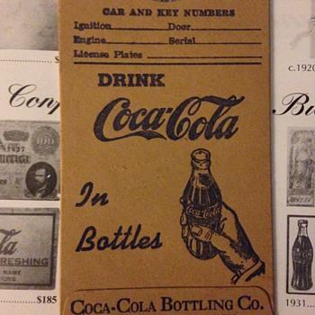 1930s-40s Coca-Cola Driver's Lisense Holder - Coca-Cola