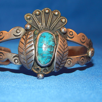 Native Indian Cuff Bracelet