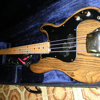 my 1975 fender p bass that i play weekly.