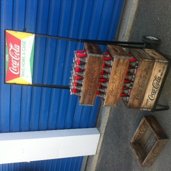 Coca-Cola Hand Truck