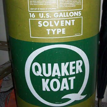 Quaker Koat barrel - Petroliana