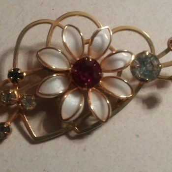 A flower   - Costume Jewelry