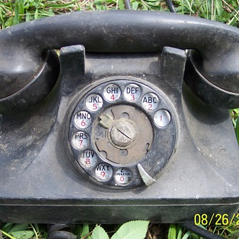Army Desk Dial Phone