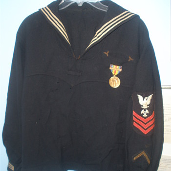 Great grandfather's Navy Uniform from WWI.