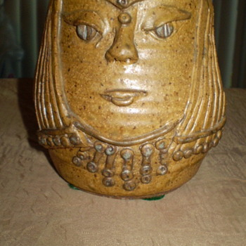 Face Art Pottery - Art Pottery