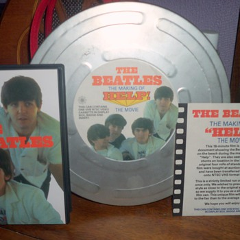 "THE BEATLES THE MAKING OF ""HELP"" THE MOVIE - Movies"