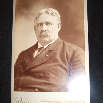 General William Shafter cabinet card