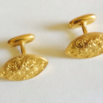 Antique Gold Cufflinks