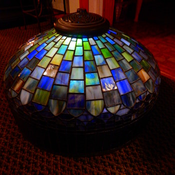 Very old Tiffany lamp