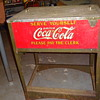original Glascock Coca Cola Cooler