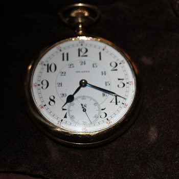 unknown been in our family since early 1900's but no one knows anything about it - Pocket Watches