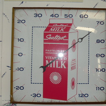 Vintage Sealtest Thermometer - Advertising