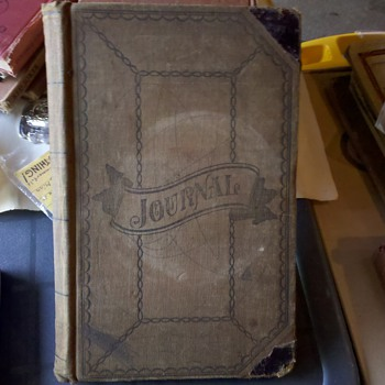 Old German Store Journal 1895 - 1898 - Books