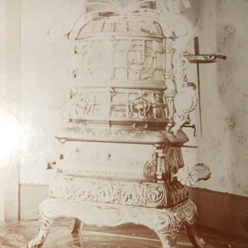 Victorian Stove worthy of a cabinet card photograph