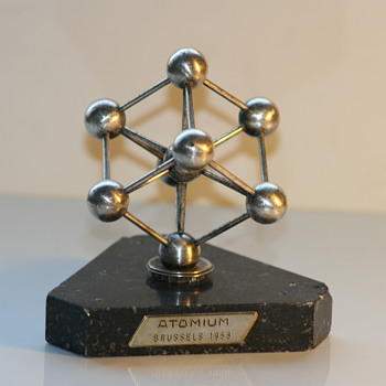 atomium brussels expo 58 souvenir - Mid-Century Modern