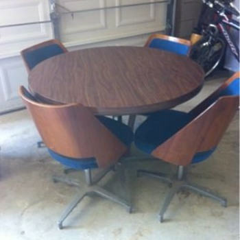 Chomcraft Dining Set? - Mid Century Modern