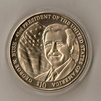 "2003 - Liberia ""George W. Bush"" Commemorative"