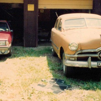 1950 & 1988 - Ford Coupe and Mustang GT