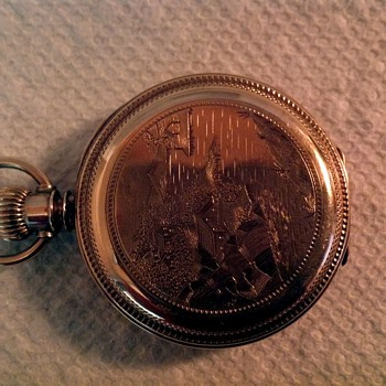 Illinois hc Pocket watch