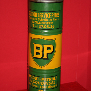 BP oil can