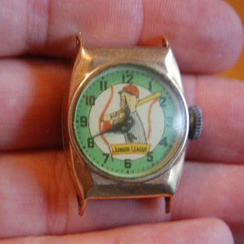 1957 Junior League Character Watch - Wristwatches