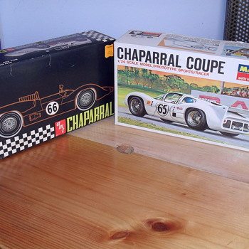 Chaparral model cars. - Model Cars