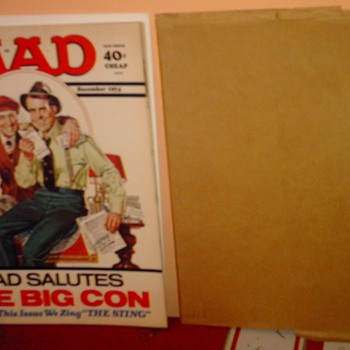 The crown Jewel of my MAD collection. MAD #171