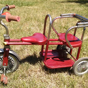 Old Two Seater Tricycle