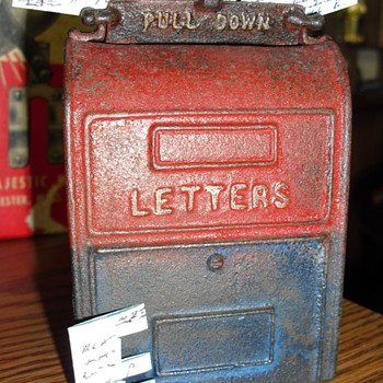 Mail Box Bank - Coin Operated