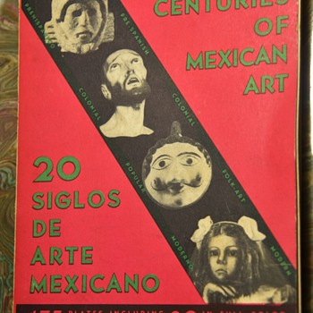 20 Centuries of Mexican Art - Books