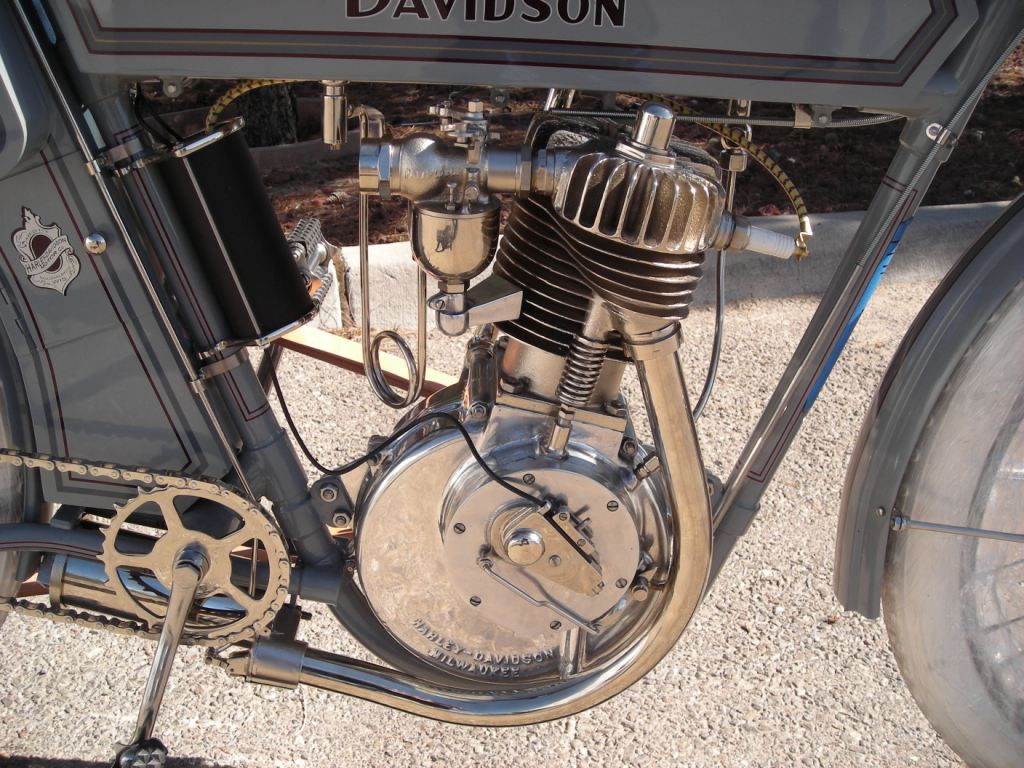 1911 harley davidson 8a single the original silent grey fellow collectors weekly - Sigle harley davidson ...