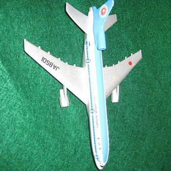 Diecast  Mini Air All Nippon Airways  L 1011  1/366 - Advertising