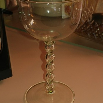 Beautiful 1920's Stemware? - Glassware