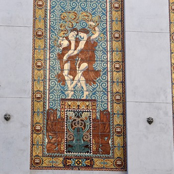 Dufwin Theater - Downtown Oakland - Tile Mosaic - Art Pottery