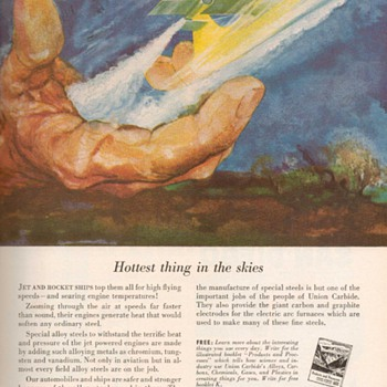 1951 - Union Carbide Advertisement - Advertising